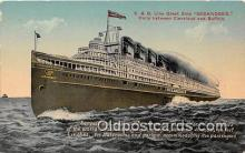 shi056044 - C & B Line Great Ship Seeandbee Cleveland & Buffalo Ship Postcard Post Card