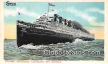 shi056045 - Steamer Seeandbee Cleveland & Buffalo Ship Postcard Post Card