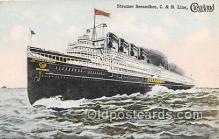 shi056049 - Steamer Seeandbee C & B Line Ship Postcard Post Card