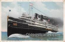 shi056056 - Str City of Cleveland III  Ship Postcard Post Card