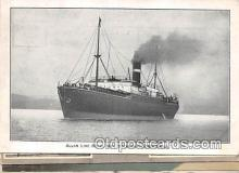 shi056070 - Allan Line Royal Mail Steamer Corinthian  Ship Postcard Post Card