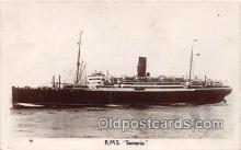 shi056071 - RMS Samaria  Ship Postcard Post Card