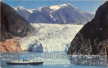 shi056079 - Tracy Arm SS Glacier Queen, SS Yukon Star Ship Postcard Post Card