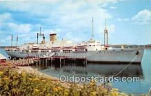 shi056081 - Maine Maritime Academy Castine, Maine Ship Postcard Post Card