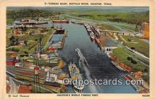 shi056083 - Turning Basin, Buffalo River Houston, Texas Ship Postcard Post Card