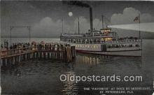 shi056086 - Favorite, Dock St Petersburg, Fla Ship Postcard Post Card