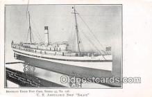 shi056088 - US Ambulance Ship Solace  Ship Postcard Post Card