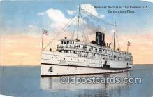 shi056089 - Steamer Belfast Eastern SS Corporation Fleet Ship Postcard Post Card