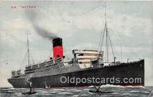 shi056100 - Cunard Line  Ship Postcard Post Card