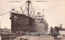 shi056102 - Dunkerque Amiral Ponty Ship Postcard Post Card