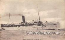 shi056107 - Transport Rohilla  Ship Postcard Post Card