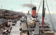 shi056116 - Landing Stage Liverpool Ship Postcard Post Card
