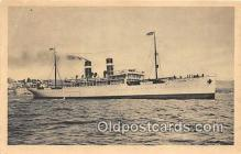 shi056122 - Cyp Fabre & Cie Vapeur Britannia Ship Postcard Post Card