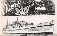 shi056133 - Non Postcard Backing, HMT Empire Fowey Cheerio Ship Postcard Post Card