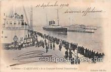 shi056139 - Le Steamer L'Aquitaine Ship Postcard Post Card