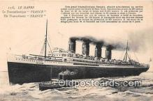 shi056140 - Le Havre France Ship Postcard Post Card