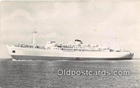 shi056148 - Ministerio de Transportes MN Alberto Dodero Ship Postcard Post Card
