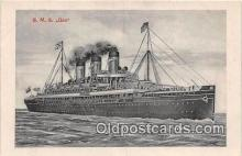 shi056150 - SMS Gaa  Ship Postcard Post Card