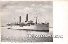 shi056158 - Royal Mail Steamer Kenilworth Castle Union Castle Line Ship Postcard Post Card