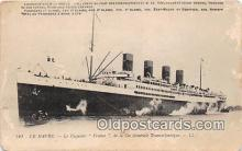 shi056160 - Le Havre Le Paquebot France Ship Postcard Post Card