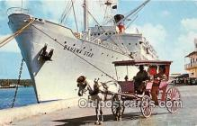 shi056173 - Eastern Steamship Corp Miami, Florida USA Ship Postcard Post Card