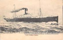 shi056178 - SS United States  Ship Postcard Post Card