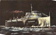 shi056184 - Milwaukee Cleveland, Ohio USA Ship Postcard Post Card