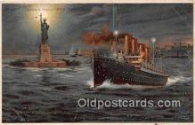 shi056191 - Bedloe's Island New York USA Ship Postcard Post Card