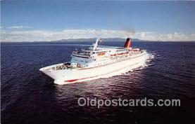 shi056200 - MV Cunard Countess Cunard Line Limited 1976 Ship Postcard Post Card