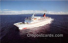 shi056201 - MV Cunard Countess Cunard Line Limited 1976 Ship Postcard Post Card