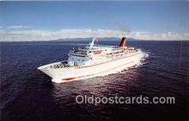 shi056206 - MV Cunard Countess Cunard Line Limited 1976 Ship Postcard Post Card