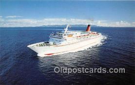 shi056207 - MV Cunard Countess Cunard Line Limited 1976 Ship Postcard Post Card