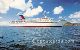 shi056208 - MV Cunard Countess Cunard Line Limited 1976 Ship Postcard Post Card
