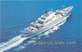 shi056209 - Santa Maria Delta Line Cruises, Canada, Mexico Ship Postcard Post Card