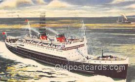 shi056211 - MV Ulster monarch  Ship Postcard Post Card