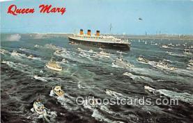 shi056212 - Queen Mary Long Beach, California USA Ship Postcard Post Card