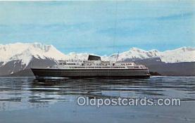 shi056214 - Alaska By Ferry Prince Rupert, BC Ship Postcard Post Card