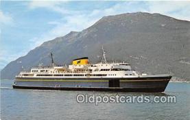 shi056215 - MV Taku Alaska Ferries, Seattle USA Ship Postcard Post Card