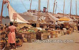 shi056217 - Nassau in the Bahamas  Ship Postcard Post Card