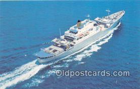shi056219 - Santa Maria Delta Line Cruises, Canada, Mexico Ship Postcard Post Card