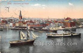 shi056221 - Kiel Stadt Ship Postcard Post Card