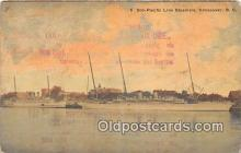shi056225 - Soo Pacific Line Steamers Vancouver, BC Ship Postcard Post Card