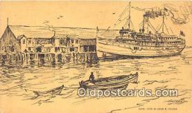 shi056232 - SS Dorothy Bradford Provincetown, Mass Ship Postcard Post Card