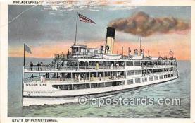 shi056234 - Philadelphia Washington Riverview Beach Pennsylvania Ship Postcard Post Card