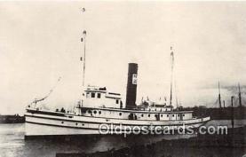 shi056246 - USS Piscataqua Guam Ship Postcard Post Card