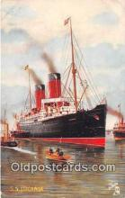shi056253 - SS Lucania, Tuck's Postcard  Ship Postcard Post Card