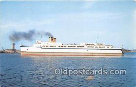 shi056259 - Elongated Automobile Little Creek, VA USA Ship Postcard Post Card