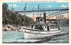 shi056263 - Niagara Falls Maid of the Mist Ship Postcard Post Card