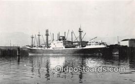 shi056266 - MV Neder Ebro Howalatswerke, Hamburg Ship Postcard Post Card