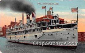 shi056271 - South Haven Boat  Ship Postcard Post Card